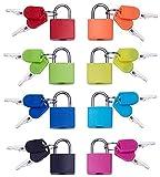 Vorhängeschloss-Sicherheit Sperren bunt 8 Kombination Sicherheit Vorhängeschlösser mit Schlüssel