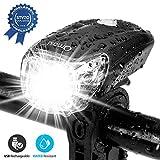 Omasi Fahrradbeleuchtung LED StVZO Zugelassen Fahrradlicht Fahrradlampe USB Wiederaufladbar Fahrrad...