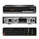 Strong SRT 7007 HD Satelliten Receiver mit Display 【Free-to-Air, HDTV, HDMI, Ethernet, USB...