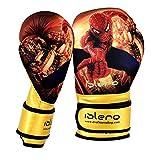 Islero Kinder-Boxhandschuhe mit Gelpolster, für MMA, Boxsack, Muay Thai usw., 113g, 170g,...
