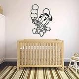 Tianpengyuanshuai Cartoon Wandtattoo EIS Kühlschrank Vinyl Aufkleber Kinder Schlafzimmer...