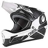 Oneal SONUS Helmet DEFT Helm, Unisex, 0481-013, Schwarz/Weiß, Medium