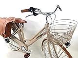 Adriatica Fahrrad Citybike 28″ Damen Aluminium Schaltknauf 6 Geschwindigkeit + Papierkorb und...