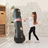 Explea Aufblasbare Boxing Fitness Sandsack Target Stand Boxsäcke Sport Stressabbau Boxing Target...