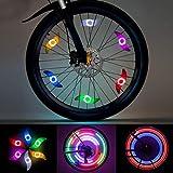LEDGLE LED Radlichter, Speichenlicht Rad Speichen Fahrrad für Mountainbike Hybrid Bike Erwachsene...