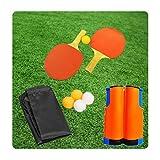 ZHLONG Tischtennistisch Set, Gymnastikgeräte, Tischtennisplatte, Sportausrüstung, inklusive...