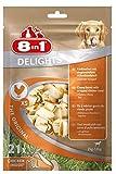 8in1 Delights Chicken, gesunder Hunde-Kauknochen mit hochwertigem Hähnchenfleisch eingewickelt in...