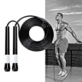 hinffinity Springseil Tangle Free Jumping Speed Boxing Übung Fitness Seil Intervall Training...