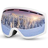 Baban Schutzbrille, Skibrille zum Skifahren, UV-Schutz, Anti-Fog, Snowboardbrille Kompatibel mit...