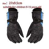 Handschuhe Skifahren Kinder-Winter-warme Handschuhe Wasserdichte Anti-Rutsch-Ski...