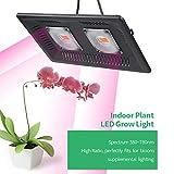 QJIAXING Led Pflanzenwachstum Lampe Full Spectrum 100W Hydroponischen Gemüsegewächshaus...