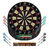 Ultrasport elektrisches Dartboard, mit und ohne Türen, Dartautomat für bis zu 16 Spieler,...