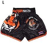 BeneU Herren Boxing Shorts Boxen Kurze Hose Sport Trainingshose Sporthose Shorts Sporthose für Muay...