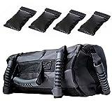 Heavy Duty Training Sandbag, Fit Sandbags für Fitness, mit 4 unabhängigen Füllung Taschen,...