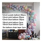 JIANZ Ballon 146pcs / Set Ballongirlande Bogen Set Hochzeit Brautparty-Party-Kulisse Decoation...