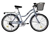T&Y Trade 26 Zoll Kinder Mädchen Damen City Fahrrad Damenfahrrad Cityfahrrad Citybike...
