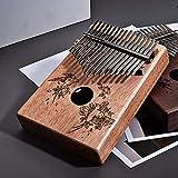 SSeir Swallow Daumenklavier 17 Tasten C Tone Acacia Beruf Marimbas Finger Instrument für Kinder...