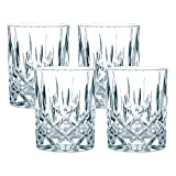 Spiegelau & Nachtmann, 4-teiliges Whisky-Set, Kristallglas, 295 ml, Noblesse, 89207