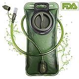 PUNDA Premium Trinkblase 2L mit Beissventil - BPA-frei, antibakteriell und auslaufsicher für Jeden...