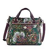 Oilily Damen Picnic Handbag Shz Henkeltasche, Grün (Green), 13x22.5x27 cm