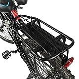 Wakects Aluminiumlegierung Gepäckträger Einstellbare Fahrradgepäckträger, Fahrradträger Racks...