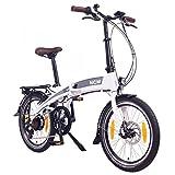 NCM Lyon E-Faltrad, Klapprad, E-Bike, Elektrofahrrad, 250W Bafang, 8Ah 288Wh Li-Ion Rahmenakku, 20'...
