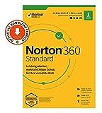 Norton 360 Standard 2020, 1-Gerät, Antivirus, Secure VPN unlimited, Passwort-Manager,...