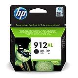 HP 912XL (3YL84AE) Original Druckerpatrone mit hoher Reichweite (für HP OfficeJet Pro 8010, HP OfficeJet Pro 8020) schwarz