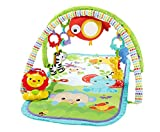Fisher-Price CHP85 - Rainforest-Freunde 3-in-1 Spieldecke, tragbare Baby Krabbeldecke inkl....