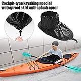 Spritzdecken Kajak Boat Spray Skirt Cockpit Cover mit wasserdicht, staubdicht, reißfest Nylon Kayak...