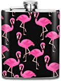 Flamingos Thermoskanne, Edelstahl, ca. 200 ml, Pink