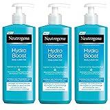 Neutrogena Hydro Boost Body Lotion Gel - Erfrischende und ultra-leichte Body Lotion mit Hyaluron - 3...