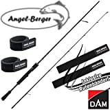 Angel-Berger Dam Effzett YAGI Spinnrute Angelrute Raubfischrute alle Modelle Rutenband (1,90m 5-20g)
