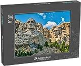 Puzzle 1000 Teile Mount Rushmore, EIN ikonisches Wahrzeichen - Klassische Puzzle, 1000/200/2000...