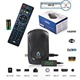 Anadol HD 777 1080p HDTV digitaler Mini Sat Receiver - energiesparender Full HD Minireceiver mit PVR...