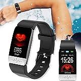 Vitorhytech Bluetooth Fitness Intelligentes Armband Echtzeit Puls Monitor Sport Tracker Blut Druck...