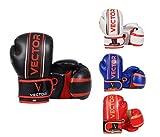 Kinder-Boxhandschuhe von Vector Sports aus Maya-Leder, handgefertigt, für Boxen, Kickboxen, MMA,...