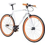 Galano 700C 28 Zoll Fixie Singlespeed Bike Blade 5 Farben zur Auswahl, Rahmengrösse:56 cm,...