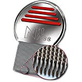 NitFree - Original Läusekamm entfernt sicher Läuse und Nissen