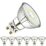 EACLL GU10 LED Kaltweiss Leuchtmittel 5W 6000K 535 Lumen Glühbirnen perfekter Ersetzen 50W Halogen...