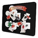 Pearl Bertie Mauspad waschbar – Casino Gambling Mousepad Gaming Non-Slip – Mauspad aus Gummi...