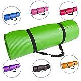 KG Physio Premium Yogamatte, Gymnastikmatte, Fitnessmatte, Trainingsmatte oder zuhause mit...