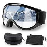 Migimi Skibrille OTG, Snowboard Brille Hochwertige Ski Schutzbrille, UV-Schutz Schneebrille...