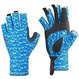 BEACE Angelhandschuhe, Sonnenhandschuhe für Herren und Damen, UV-Schutz, LSF 50+, Handschuhe für Outdoor, Kajak, Rudern, Kanufahren, Paddeln