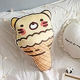 not Kreatives 3D-Süßes EIS Sweet Tube Pillow Gefülltes Plüschkissen Mit Inner Home Office Kissen...