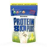 WEIDER Protein 80 Plus Eiweißpulver, Pistazie, Low-Carb, Mehrkomponenten Casein Whey Mix für...