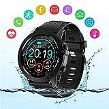 BYTTRON Smart Watch, Voll-Touchscreen IP68 Wasserdichter Bluetooth Fitness Tracker GPS...