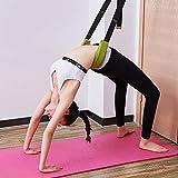 Yoga Stretching Strap Beinstrecker Türband Back Bend Assist Trainer Verbessern Sie Bein Taille und...