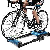 TSSM Fahrrad-Heimtrainer, Road Bike Trainer Balance-Training Krafttraining Fitnessgerät Faltbare...