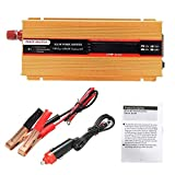 DDNB Power Inverter 800W Solar Power Inverter DC 12V bis 110V AC Auto-Konverter Ladegerät-Adapter...